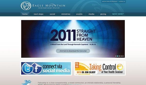 60 Of The Best Church Website Designs Church Website Design Web Design Inspiration Design