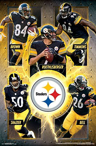 22ed9115a69 Pittsburgh Steelers Poster | Cool Pittsburgh Steelers Fan Gear ...