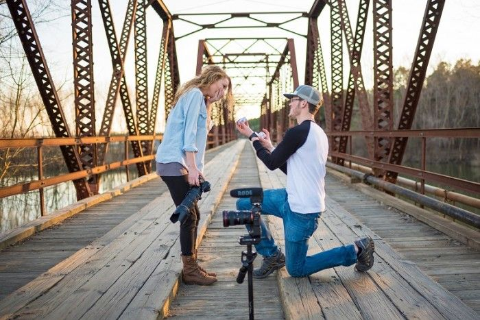 Kidron And Rebekahs Proposal Perfect Video Proposals And