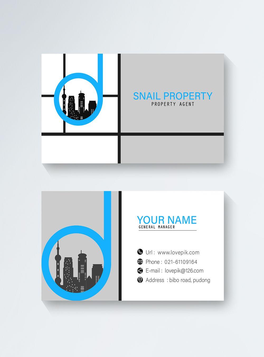 Architect Business Card Web App Design Digital Media Marketing Cards