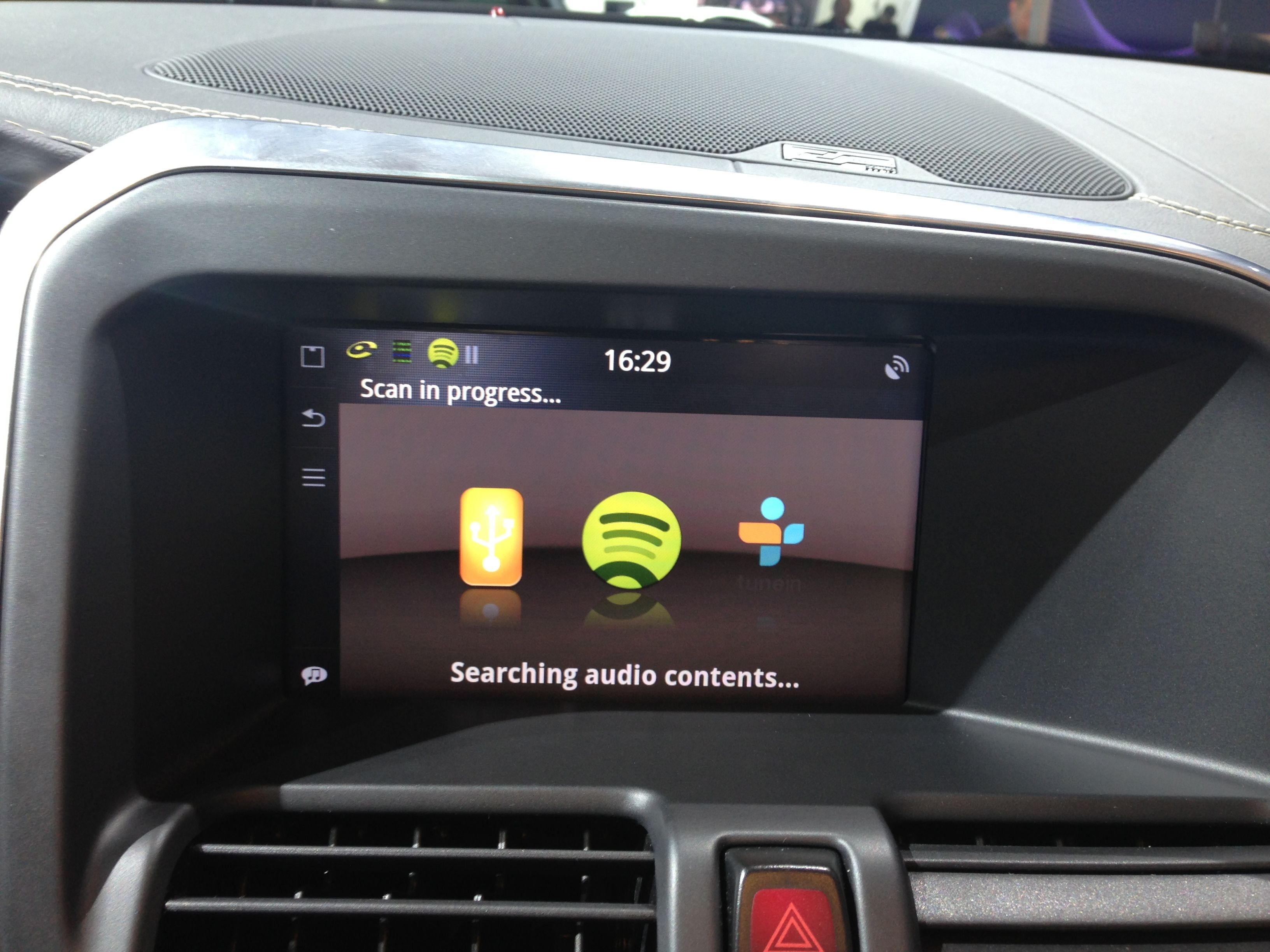Apps available for download on the 2014 volvo xc60