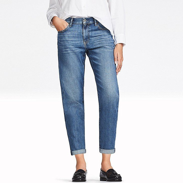 c2764399cf75 DAMEN JEANS HOSE 7/8 LÄNGE | UNIQLO | Fashion | Mode | Jeans hosen ...