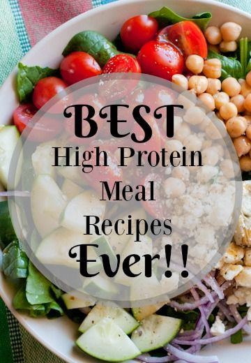 Best High Protein Meal Recipes Ever Healthy Hearty Meals