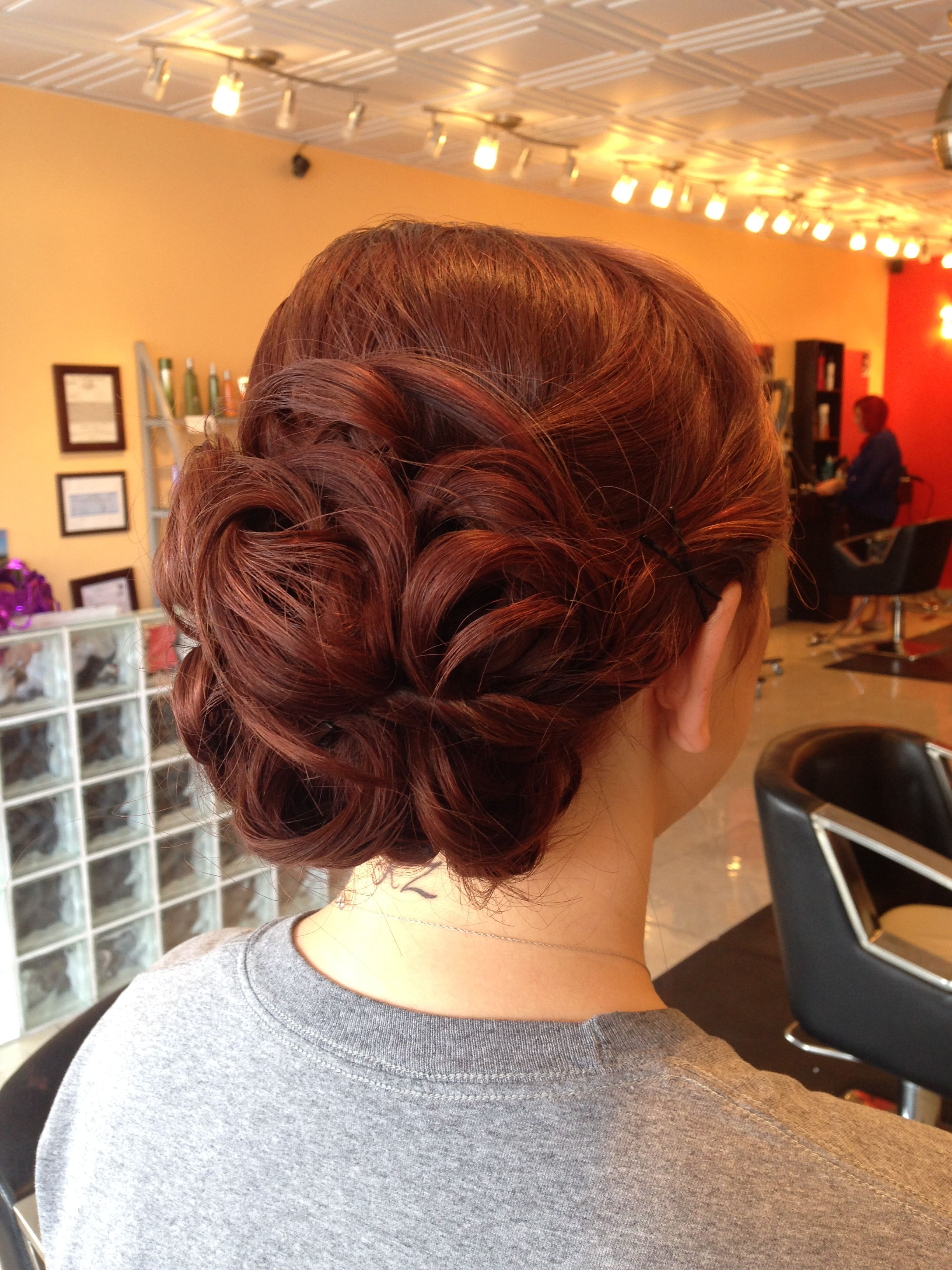 military ball hair | updo's and special occasion hair