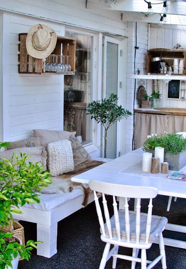 uterum hannashantverk altanb nk slagbord pinnstol tr l dor inspiration pinterest v randa. Black Bedroom Furniture Sets. Home Design Ideas