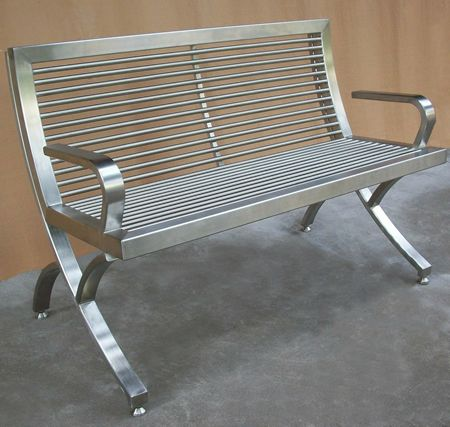 Faldo Fabb And Fablb Steel Benches Steel Bench Bench Garden Seating