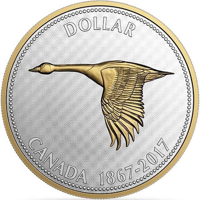 Fine Silver Coin 1867 2017 Big Coin Series Canada 150