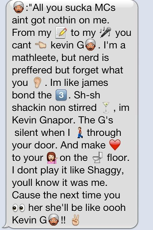 Kevin G Mean Girls Business Card