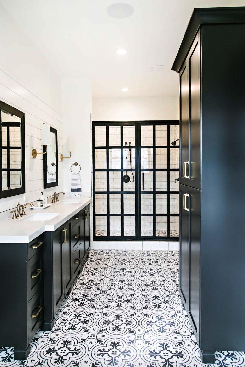 75 Modern Rustic Farmhouse Style Master Bathroom Ideas Homeastern Com Bathroom Remodel Master Bathroom Farmhouse Style Bathroom Interior Design