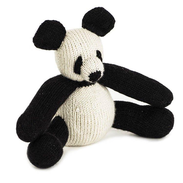 Cuddly panda bear 90 handcrafted in nepal fair trade