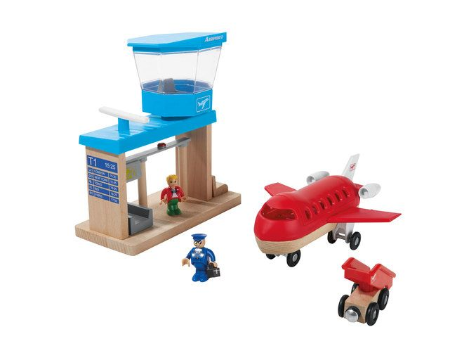 Playtive Junior Garage Airport Port Or Track Toys