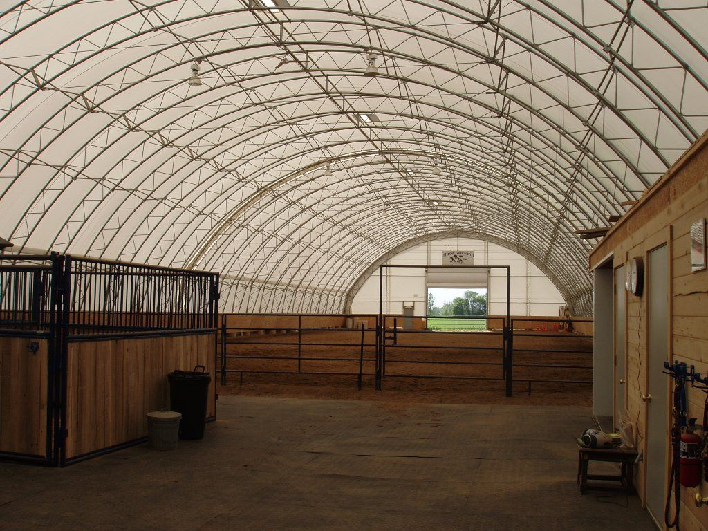 Horse barn designs with arena google search barn for Equestrian barn plans