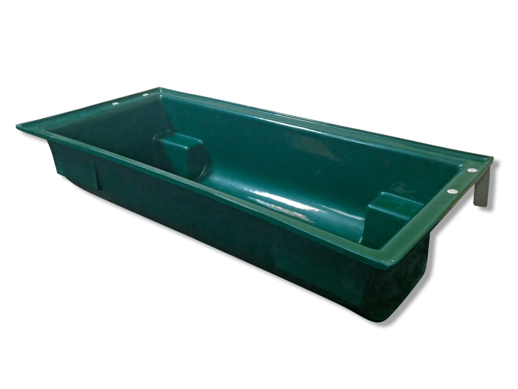 Made From Polyethylene The Stallion Meal Troughs Are Tough And