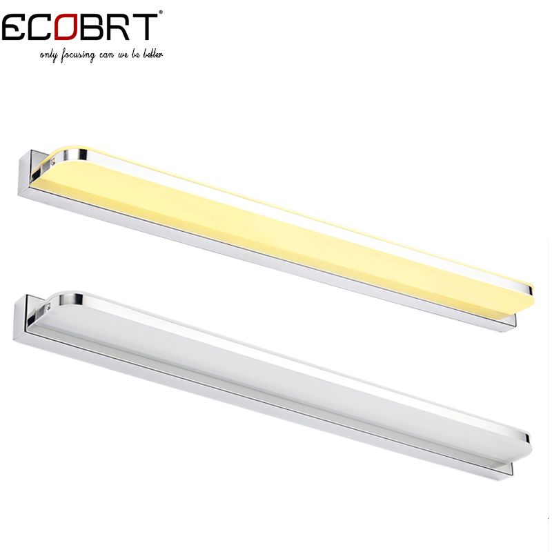 ECOBRT #5960R 20W 92cm Long LED Light Bathroom Wall Mounted Mirror Lights Fixtures with Waterproof driver 100-240V AC #Affiliate
