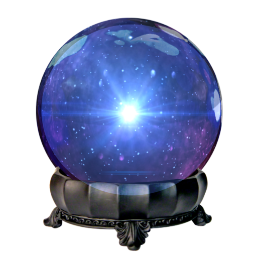 The domain name is for sale Crystal ball
