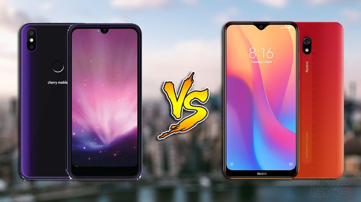 Cherry Mobile Flare S8 Vs Xiaomi Redmi 8a Specs Comparison