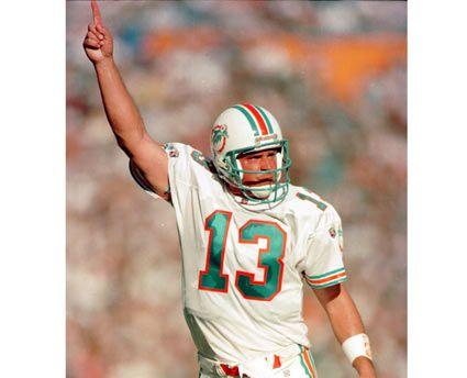 Dan Marino - Born in Pittsburgh, PA, Pro Football Hall of Famer, TD-INT 420-252, Passing yards61,361
