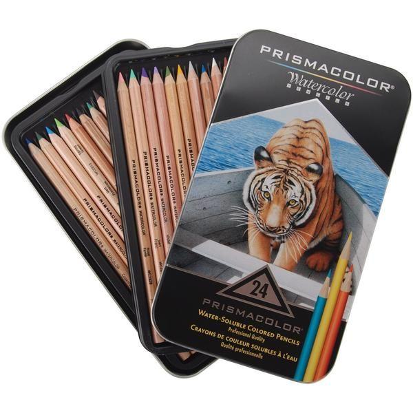 Prismacolor Watercolor Pencils 24 Pkg Prismacolor Watercolor