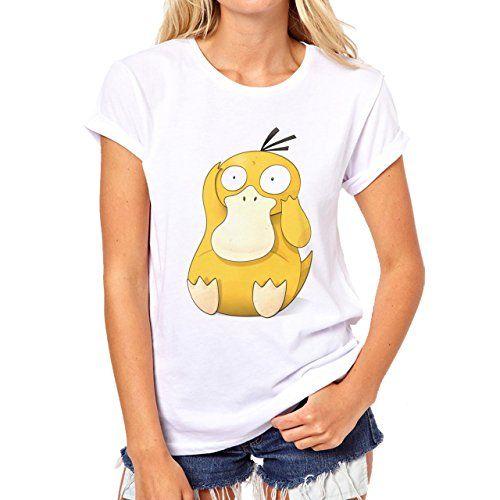5ebf4959 Pokemon Go Psyduck Duck Water Real Small Womens T-Shirt – Pokemon Tshirt &  Dress for Women