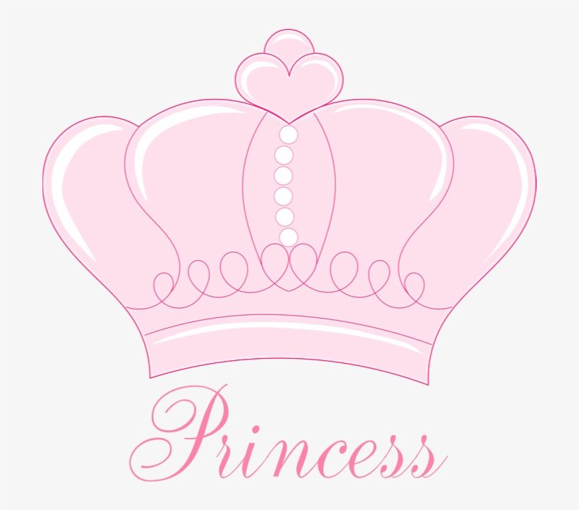 Download Pink Crown Princess Shower Curtain By Gigglish Png Baby Crown Clipart Png Image For Free Search More High Qua Baby Crown Pink Crown Princess Shower