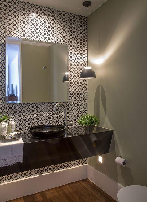 Apartamento Mar Do Leblon Andrea Chicharo Lavabo Bathroom Tile Mueblesdebano Diseno De Banos Lavabos Decoracion Banos