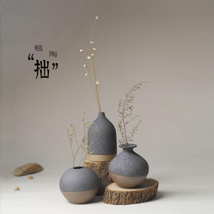 Jingdezhen Ceramic Japanese Minimalist Flower Ornaments Decorations