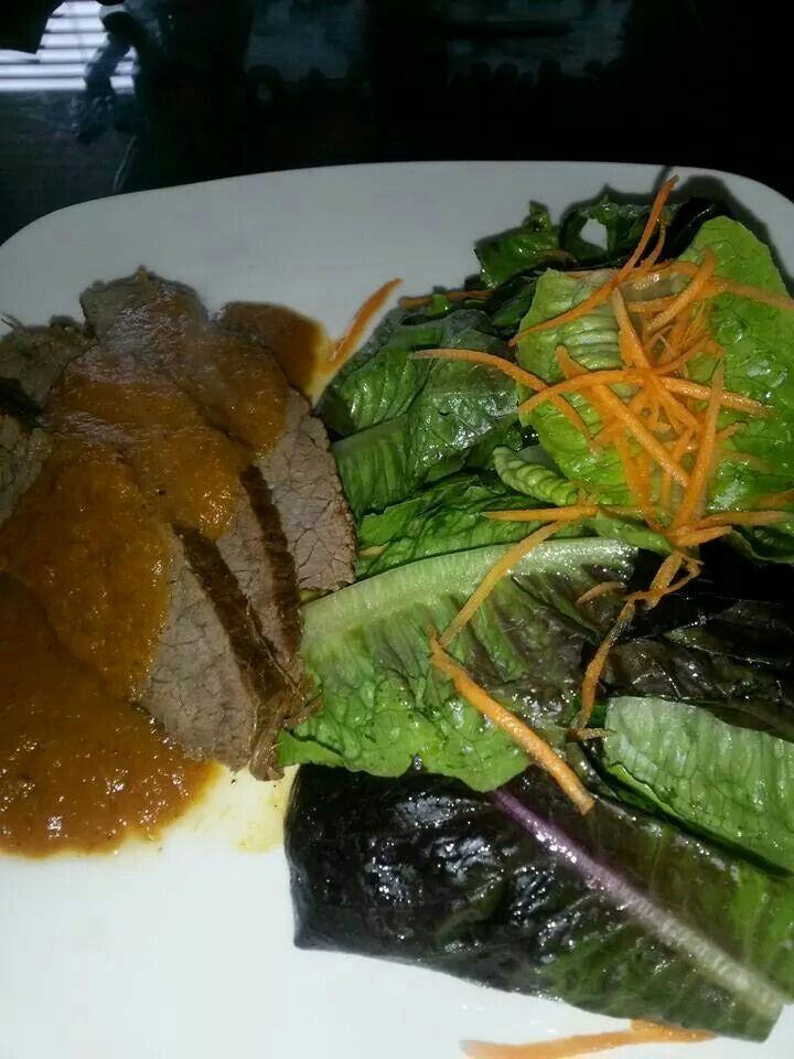 Stek salad