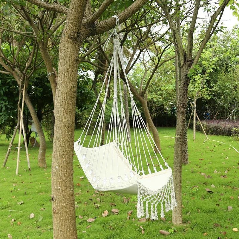 Hammock Garden Seat For Child Adult Swing Rope Outdoor Indoor Hanging Chair Hammock Swing Chair Garden Seating Nordic Style