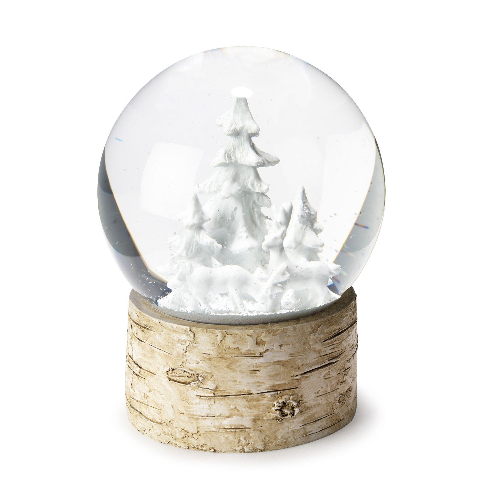 boule neige h16cm snow les objets d coratifs vases et objets de d co salon et salle. Black Bedroom Furniture Sets. Home Design Ideas