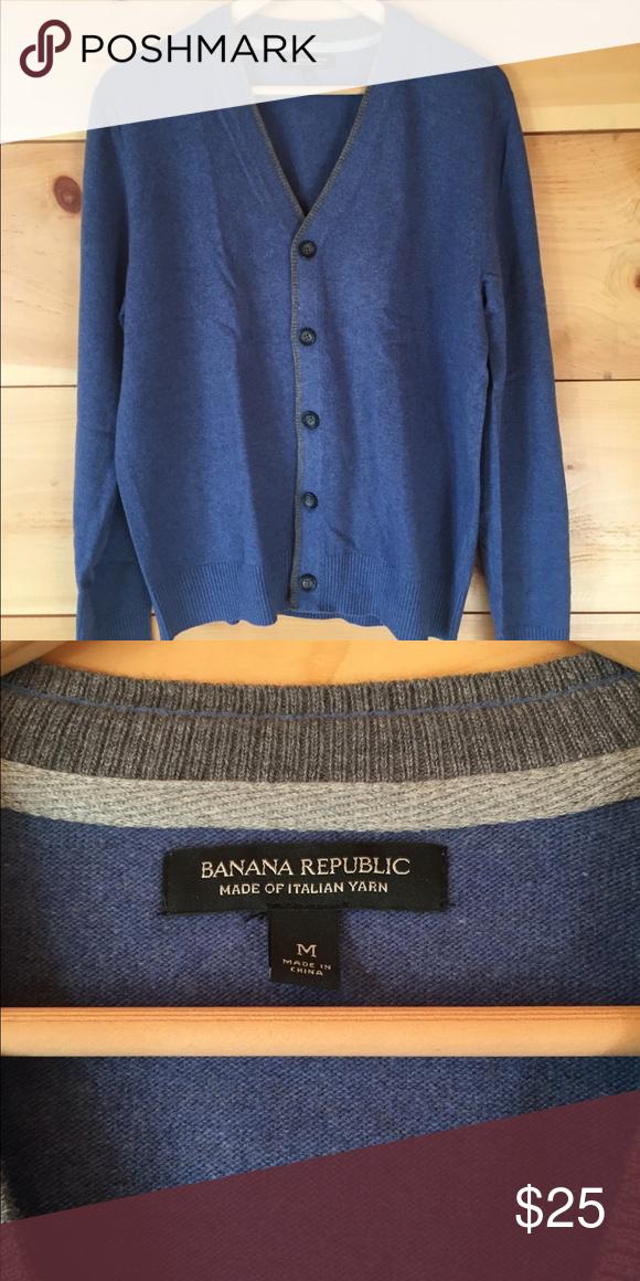 Banana Republic Italian wool cardigan (With images) | Cardigan