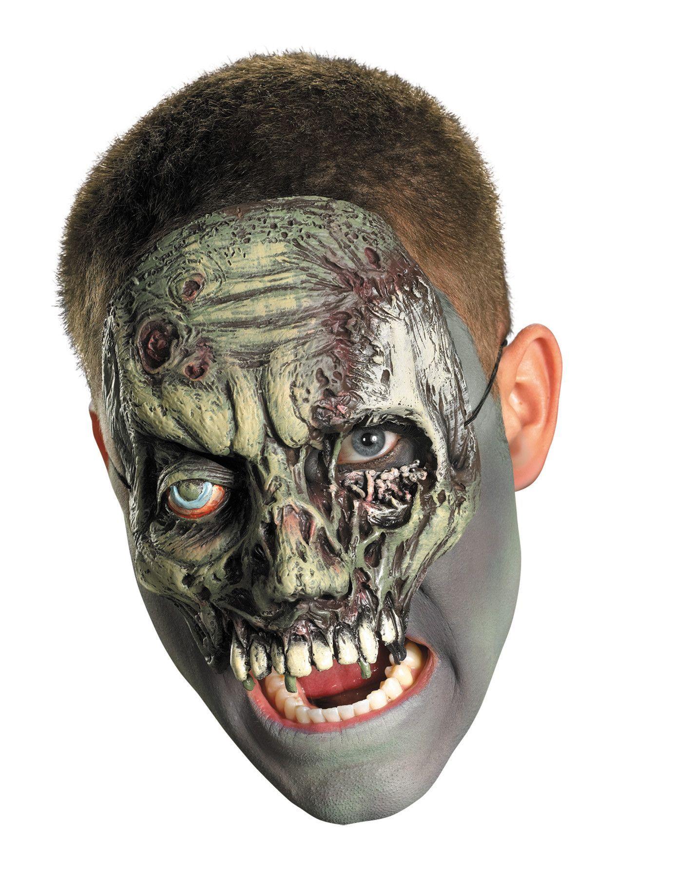 Dead Skin Adult Vinyl Chinless Costume Mask