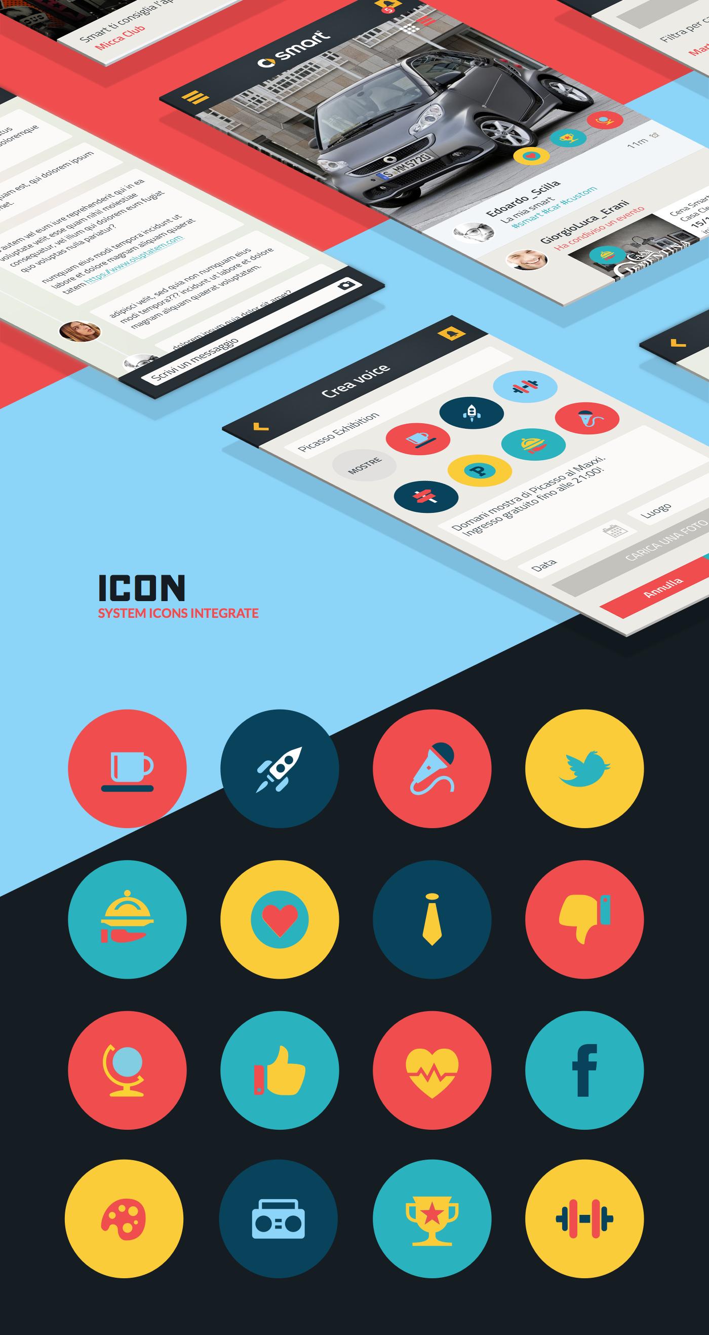 Smart community - Concept App on Behance