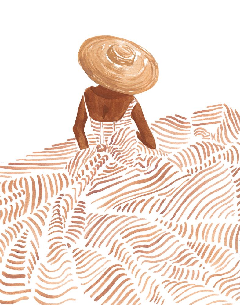 Madame Fleur Art Print by Sabina Fenn Illustration - X-Small