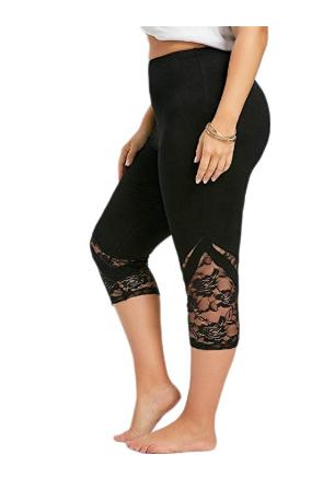 Running Stretch Yoga Athletic Overdose en Sportswear Femme Gym Trousers Short Legging Pantalon Dentelle Haute Grande Sport Été Taille Taille Tnqp7