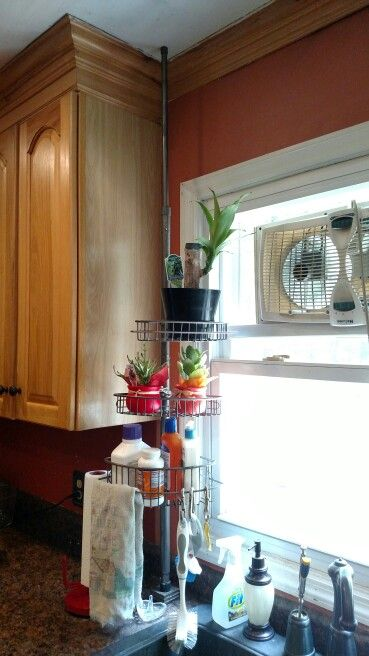 Use Shower Caddy For Kitchen Sink Shelf Or A Floor To