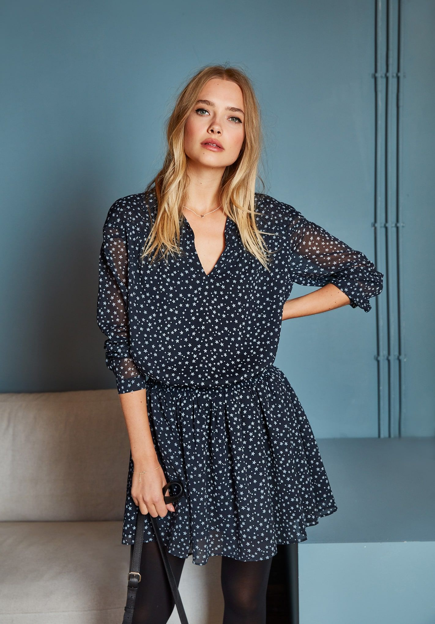 b22f0582b397 Cressida Shirred Dress