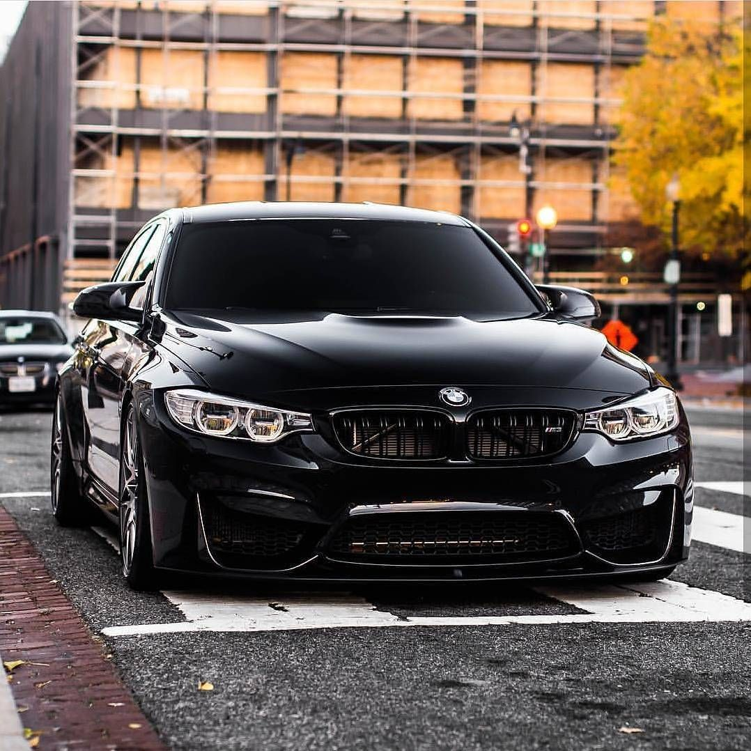 Black BMW M3 (F80). (via Instagram