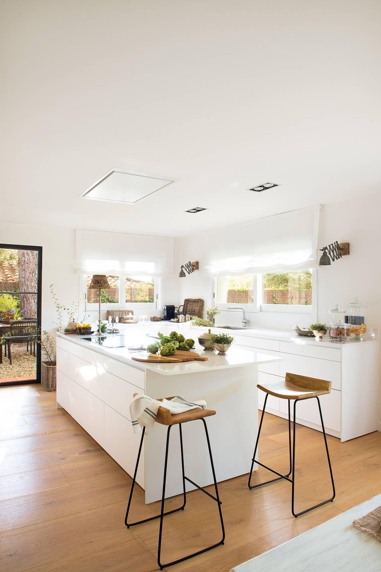 50 cocinas abiertas al comedor y al sal n cocinas for Cocina abierta al comedor y sala de estar