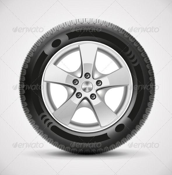 Car Tire Vector Car Tires Tire Vector Tire
