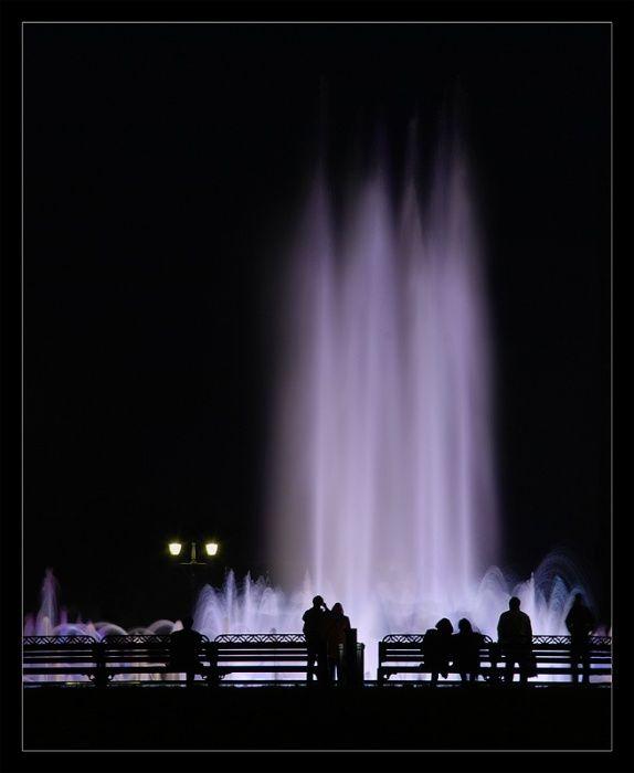 Москва Музыкальные фонтаны в Царицыно