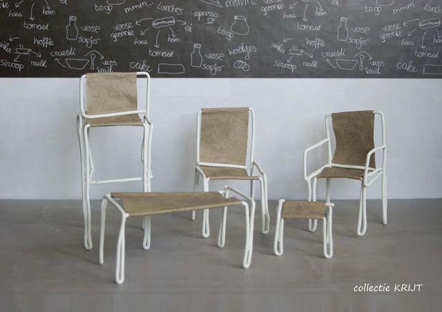 Rondom Stijl: stoelen collectie KRIJT