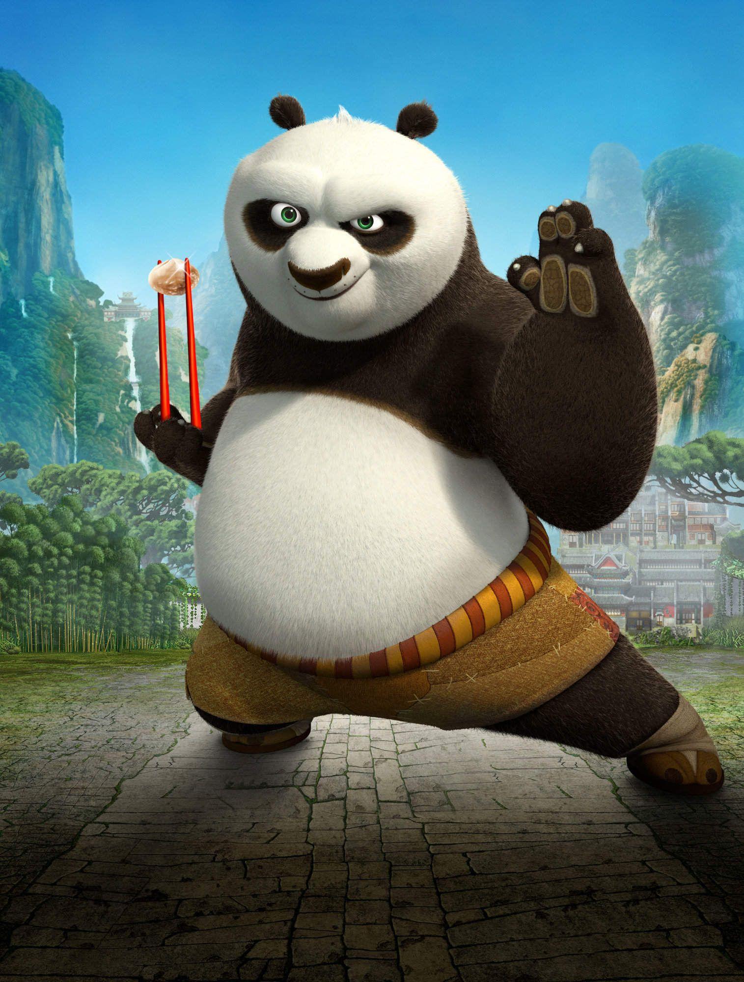 Kung Fu Panda 2 Watch Out Com Imagens Dragao Guerreiro Kung