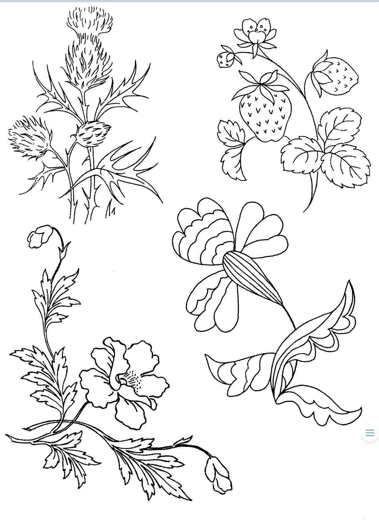 Hand Stitch Embroidery Patterns Free   Embroidery patterns free ...