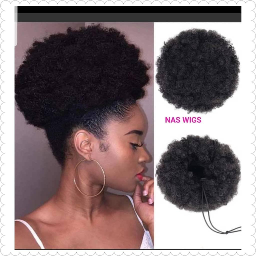 New Hair Alert Karis Mongolian Hair Grade 12a Hairs You Can Call Us On 0244422258 For Your Orders Bun Hairstyles Scrunchie Hairstyles Bun Hair Piece
