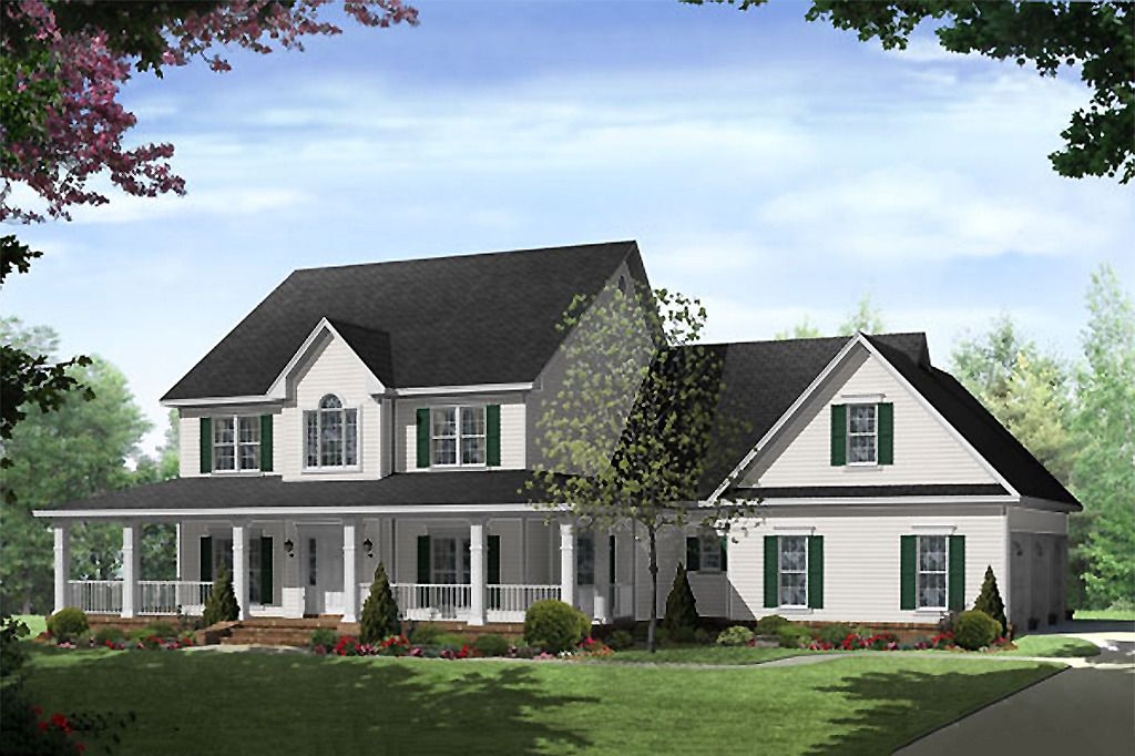 Country Style House Plan 4 Beds 3 5 Baths 3000 Sq Ft Plan 21 269 Country Style House Plans House Plans Farmhouse England Houses