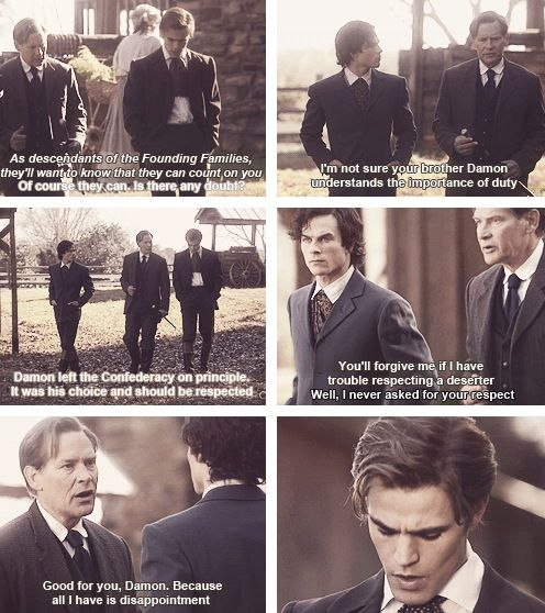 1864 Damon Stefan and Mr. Salvatore | THE VAMPIRE DIARIES ...