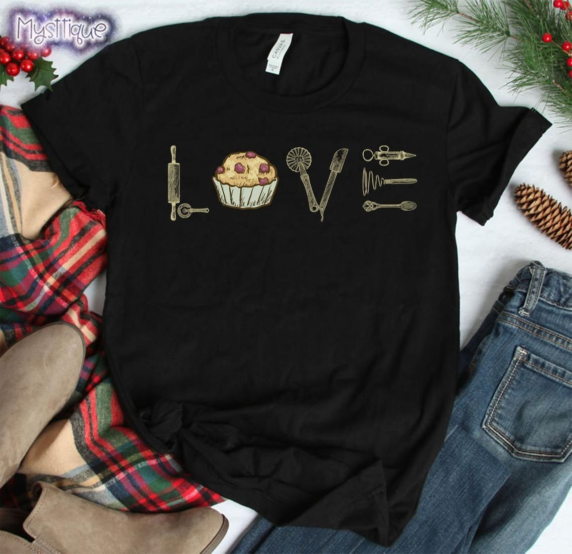 Cupcake Shirt 2021 Shirt Baker Shirt Baking Shirt Gifts for Bakers Valentine Shirt Cute Cupcake Shirt Matching Couple Shirts