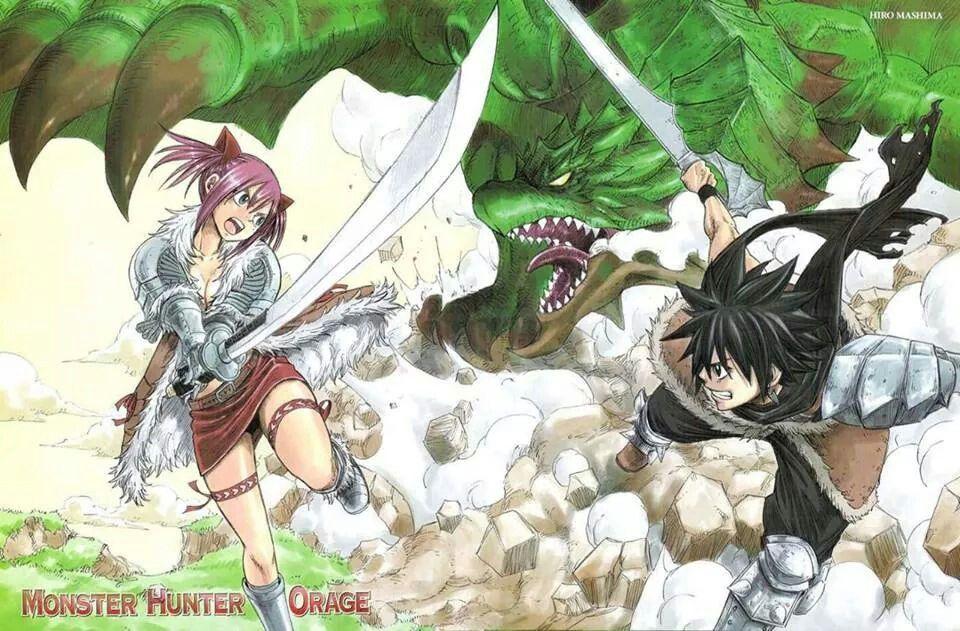 Monster Hunter Orage [Shonen] Ab13ecf478d606f551179144f825a5b8