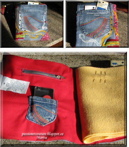 Denim Needle Case | Bolsos, Costura y Accesorios