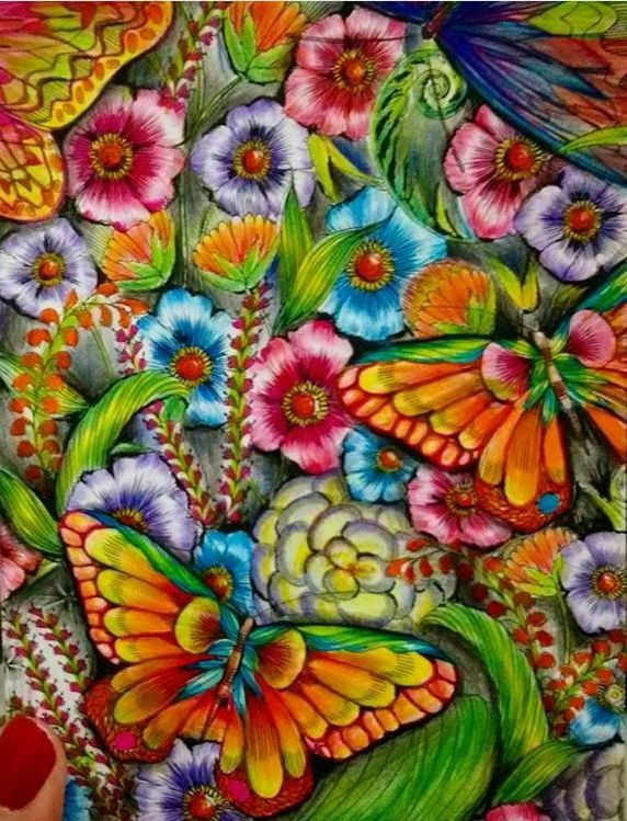 Bright bold and beautiful   Color pencil art, Colorful ...